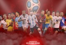 FIFA World Cup 2018 Players Wallpaper