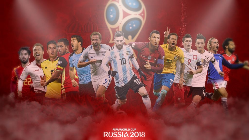 FIFA WM Coupe 2018 Players Wallpaper