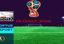 FIFA World cup 2018 TV Channel List For Watching LIVE