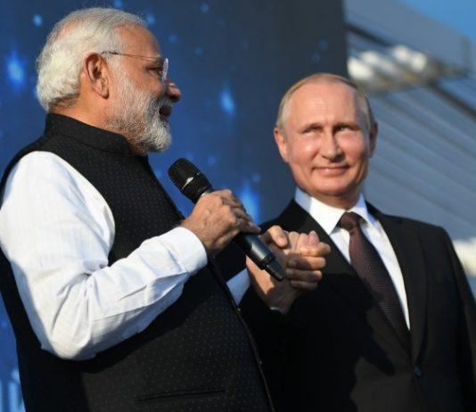 Indian PM Vladimir Putin
