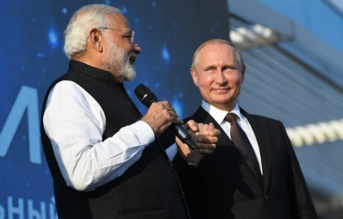 Indian PM To Vladimir Putin
