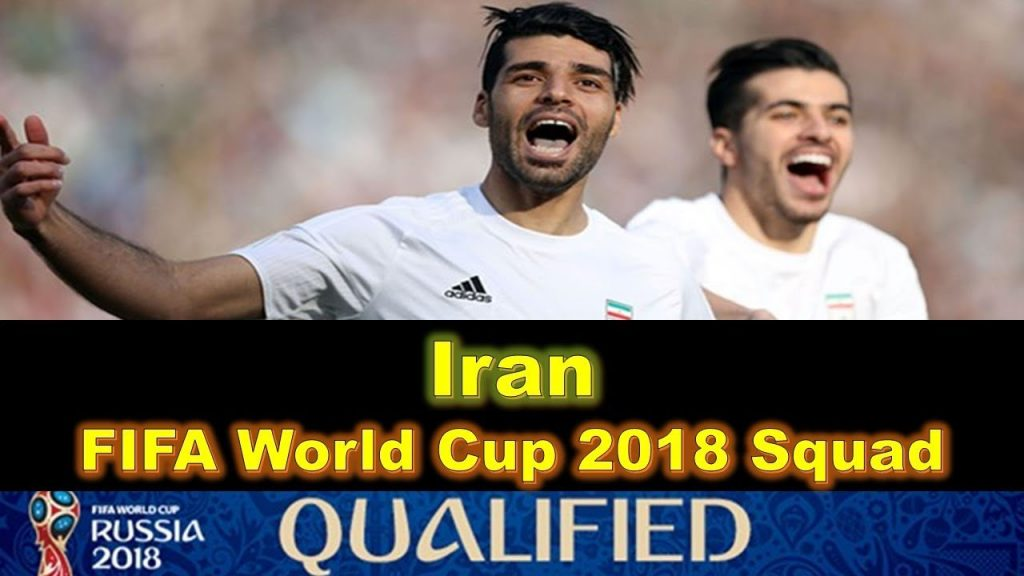 Iran World Cup 2018 Squad
