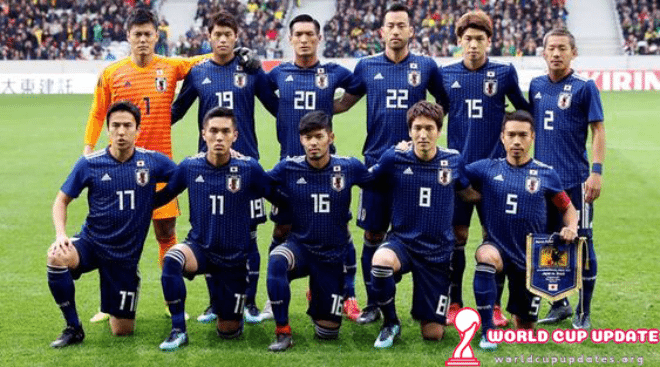 Japan World Cup 2018 Squad