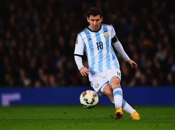 Lionel Messi - Team Argentina Captain