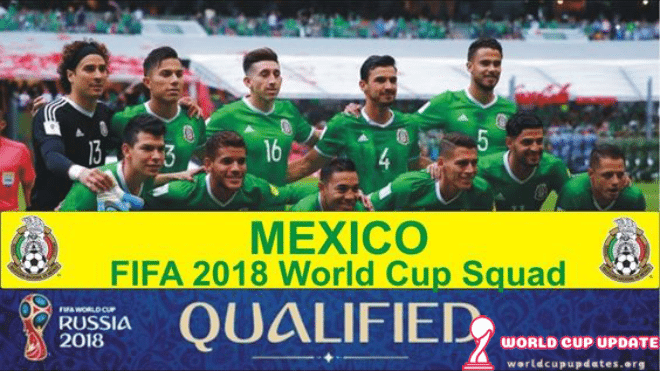 Mexico World Cup 2018 Squad