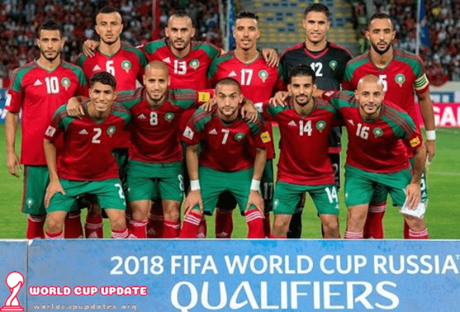 Morocco World Cup 2018 Squad