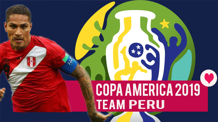 Team Peru Copa America 2019