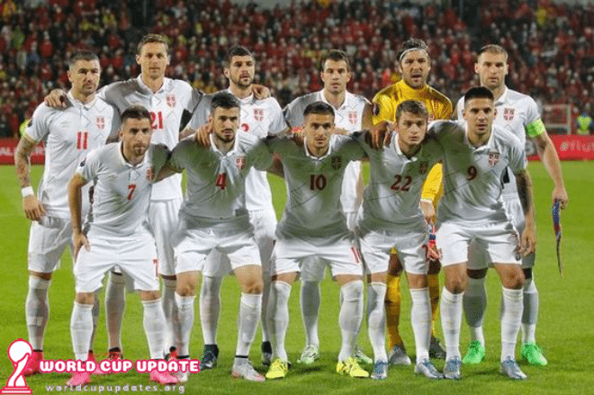 Serbia World Cup 2018 Squad