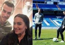 Sonakshi Sinha With Gareth Bale