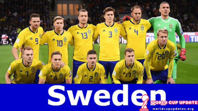 Sweden World Cup 2018 Squad