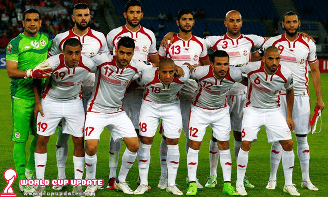 Tunisia World Cup 2018 Squad