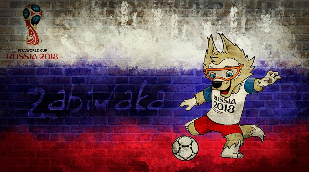 Zabivaka 2018 FIFA World Cup Mascot Wallpaper