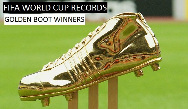 FIFA World Cups Golden Boot Award Winners