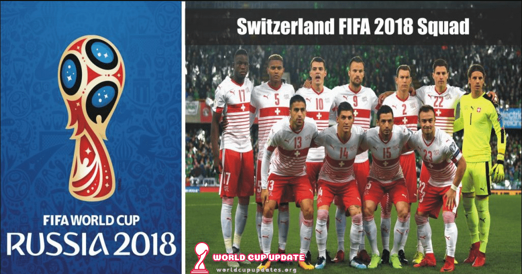 Switzerland World Cup 2018 Squad