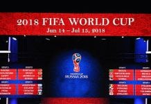 2018 FIFA World Cup Russia schedule
