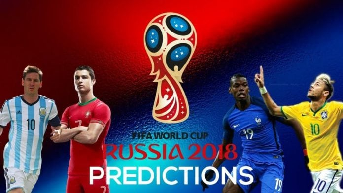 2018 World Cup predictions