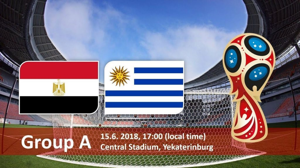 Egypt vs Uruguay FIFA World cup 2018