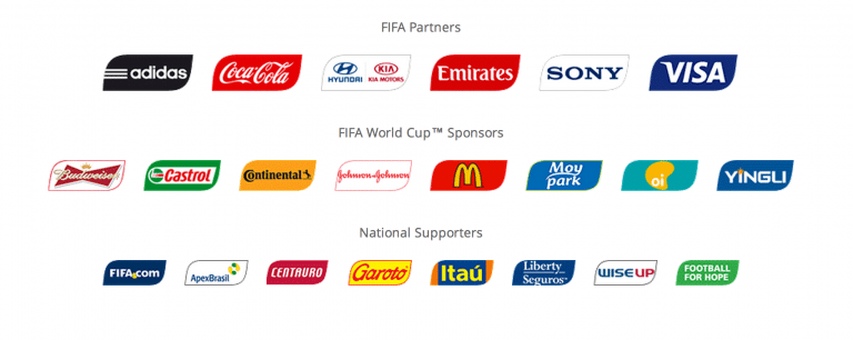 FIFA World 2018 Official Sponsors