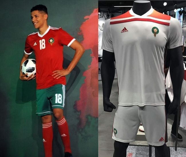 Morocco fifa world cup kit