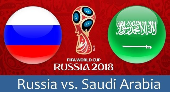 Russia vs Saudi Arabia Live Streaming FIFA World Cup 2018 Match 1 Watch Online Free