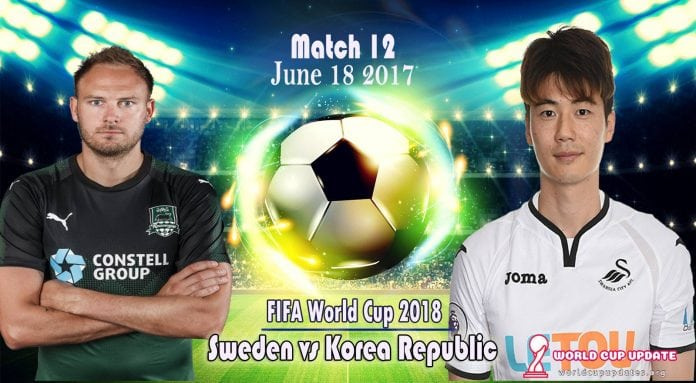 Sweden vs Korea Republic