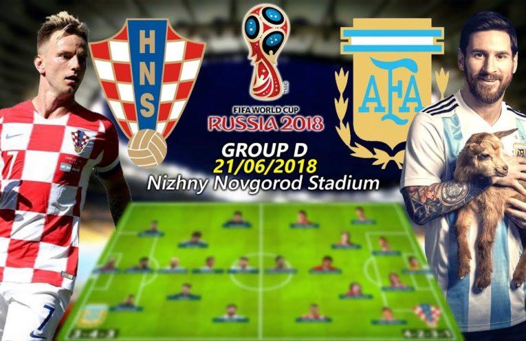argentina vs croatia Live