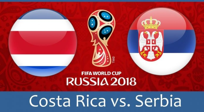 Costa Rica vs Serbia FIFA World Cup 2018 Match Prediction