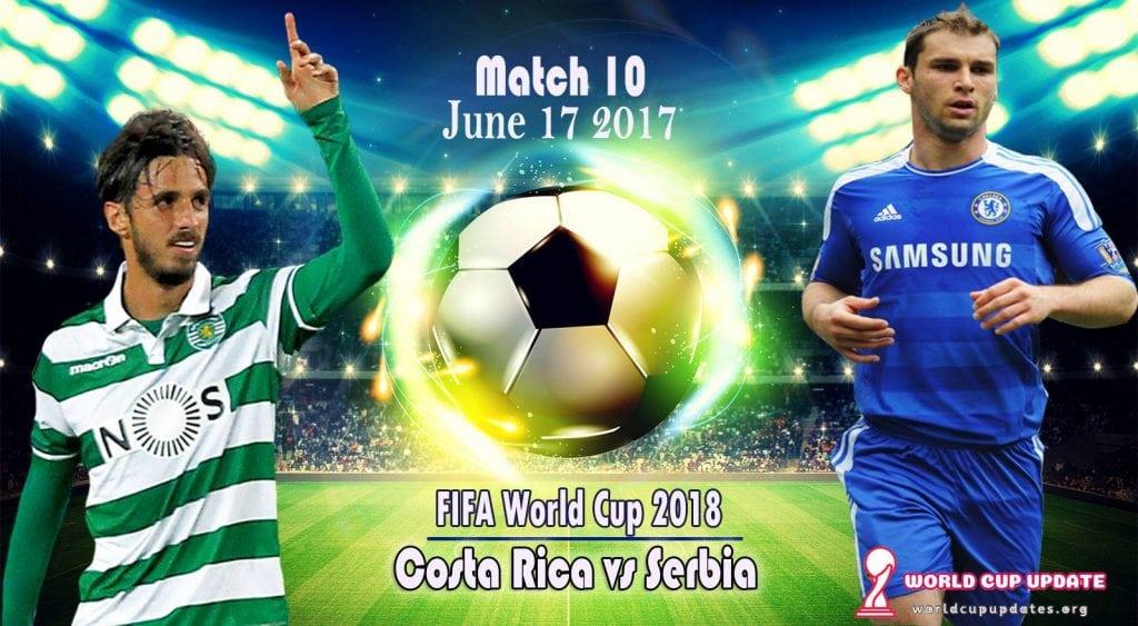 costa rica v serbia world cup updates