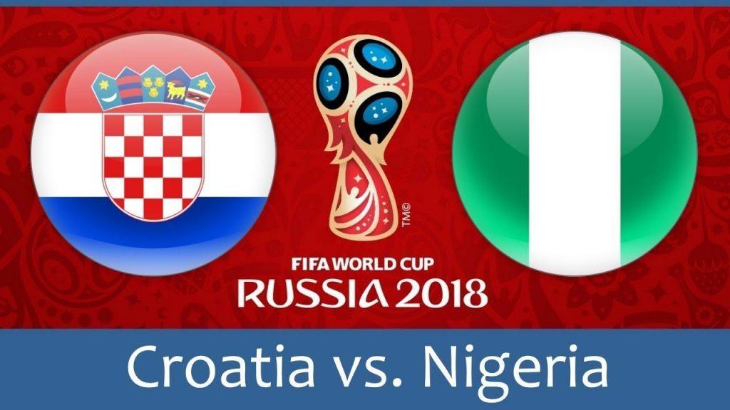 Croatia vs Nigeria FIFA World Cup 2018 Match Prediction