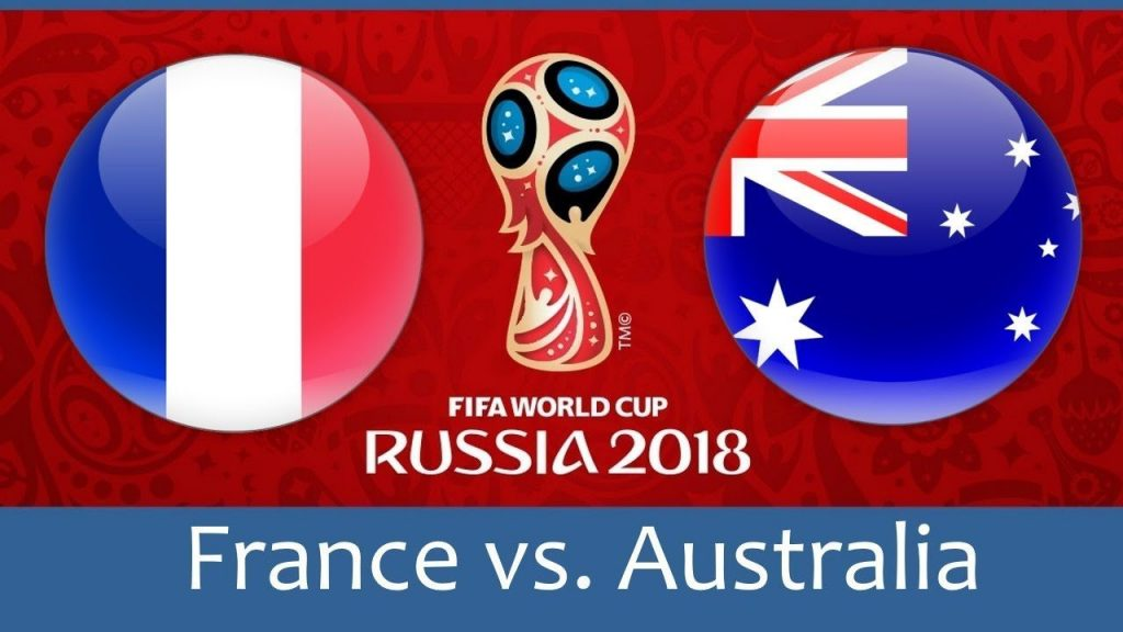 France vs Australia FIFA World Cup 2018 Match Prediction
