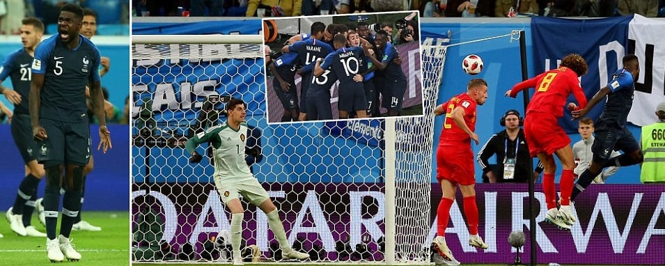 France vs Belgium Highlights 2018