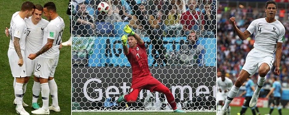 France vs Uruguay Live Stream