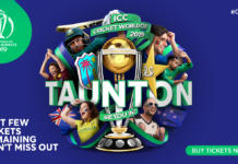 ICC Cricket World Cup 2019 Ticket