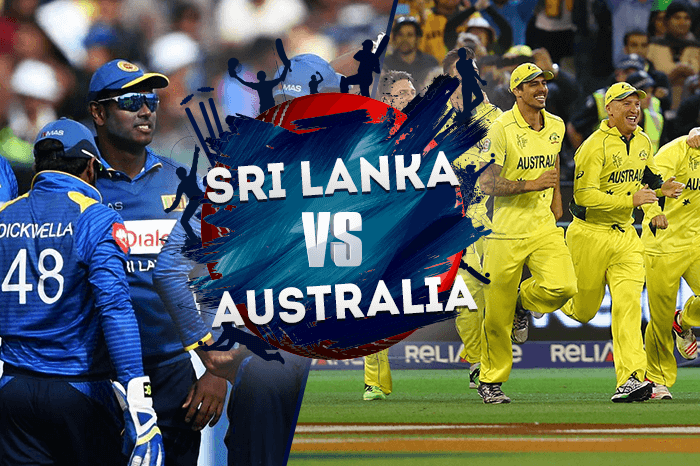 SRI LANKA vs AUSTRALIA