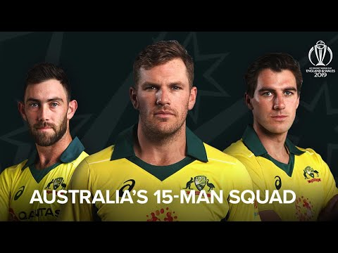 15 Man Squad of Australia