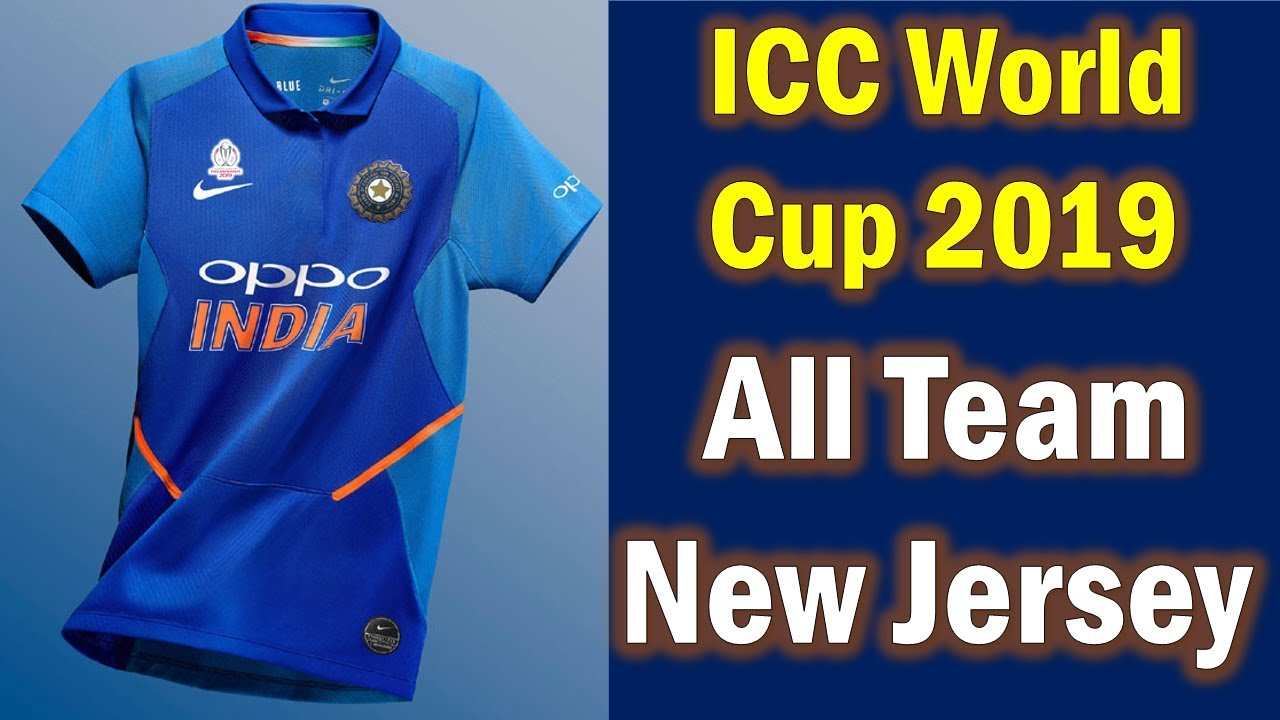 2019 World Cup India Jersey