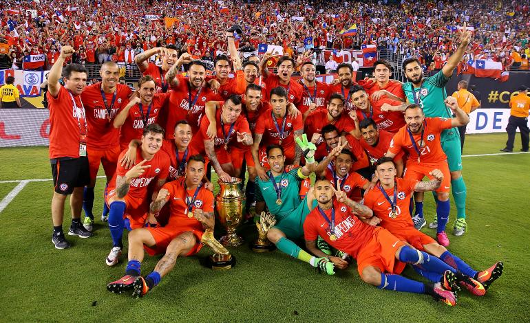 Copa America Team Chile