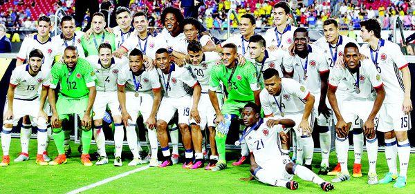 Copa America Team Colombia