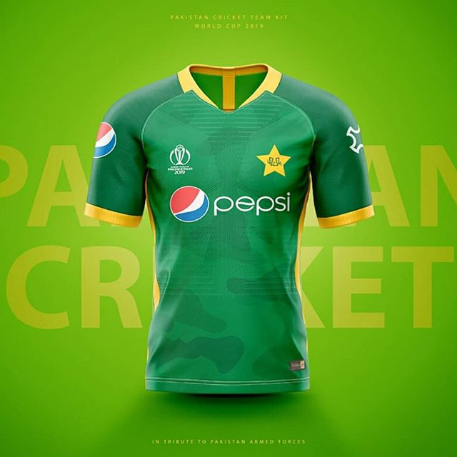 Pakistan Cricket Team Jersey for World Cup 2019