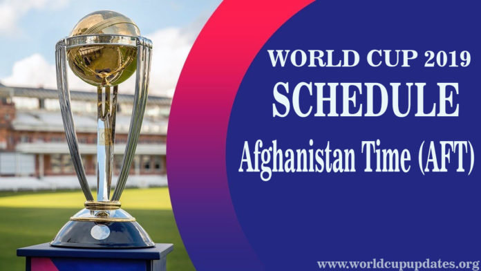 Cricket World Cup 2019 Schedule Mauritius Time Afghanistan Time