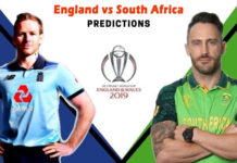 England Vs South Africa Match Prediction