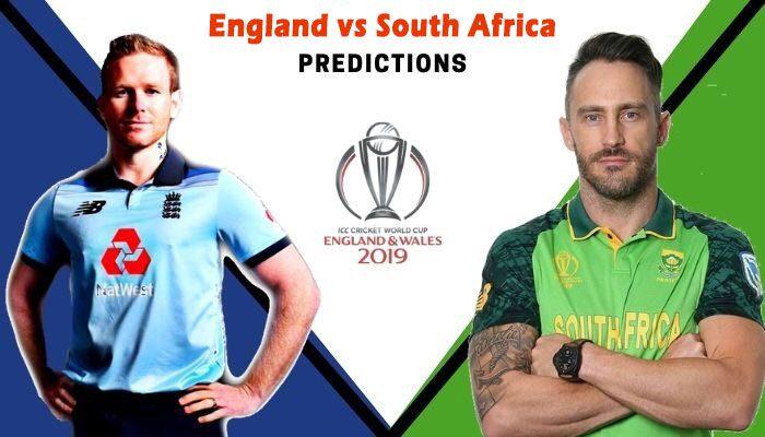 England Vs South Africa Match Prediction