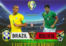 BRAZIL-V-BOLIVIA Live Streaming Copa America 2019