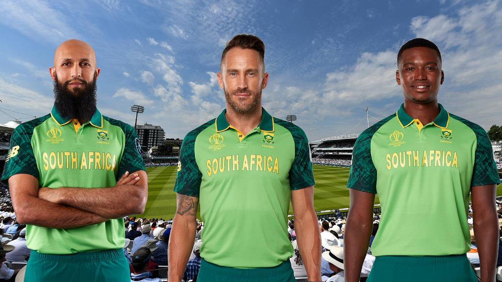 South Africa Cricket Team Jersey