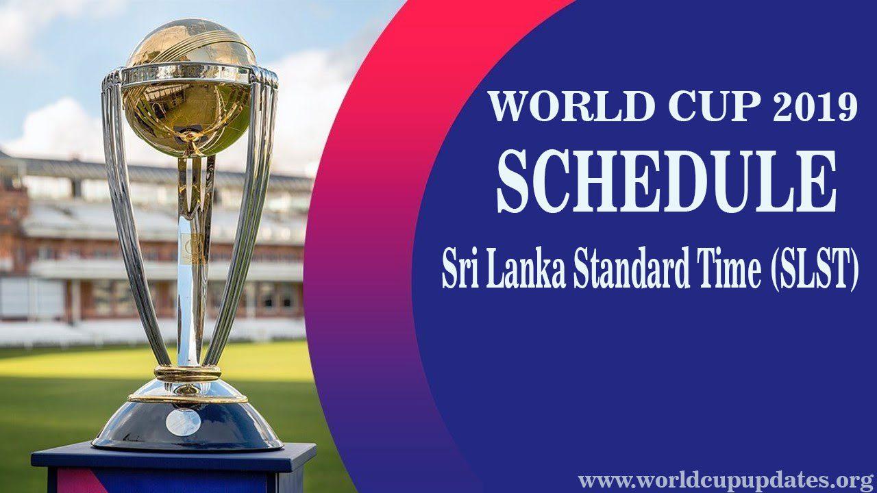 Cricket World Cup 2019 In Sri-Lanka Time
