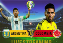 Argentina-V-Colombia Copa America 2019 Live Streaming