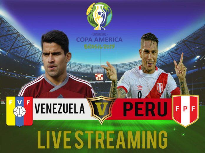Venezuela vs Peru Copa America 2019 Free Live Streaming Online