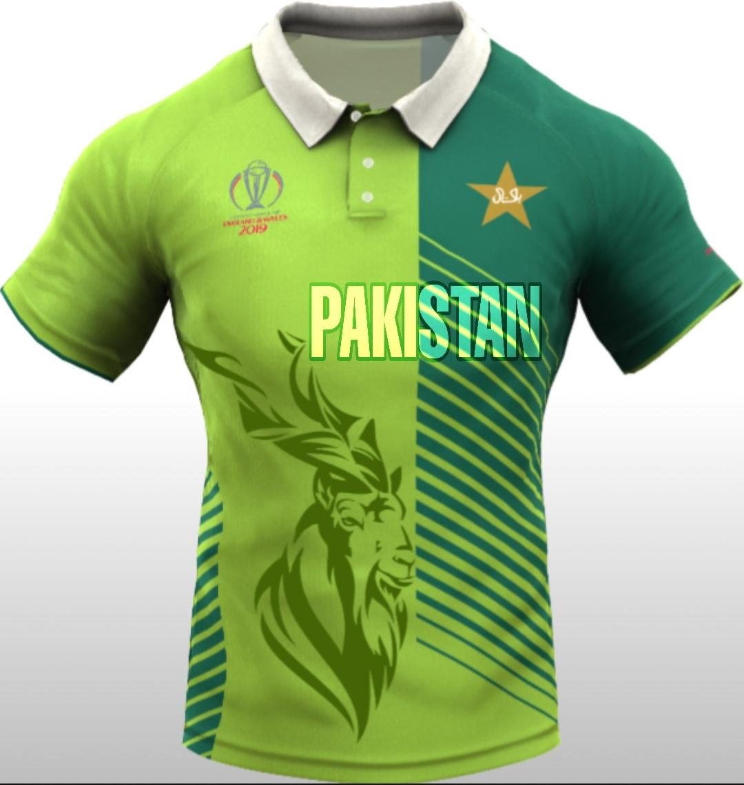 pakistan Cricket team jersey