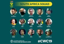 south-africa-Squad-World-Cup-2019