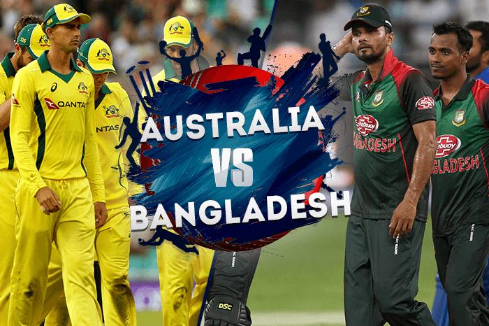 Australia-vs-Bangladesh - Cricket World Cup 2019